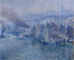 Boulogne-sur-Mer | Theo van Rysselberghe | Oil Painting