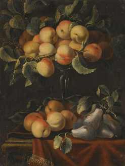Still Life with Fruit and Glass Tazzas | Carlo Manieri | Oil Painting