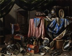Ostentatious still life | Carlo Manieri | Oil Painting