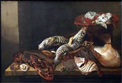 Still Life with Fishes | Isaac van Duynen | Oil Painting