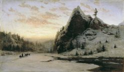 In the Urals | Vladimir Kazantsev | Oil Painting