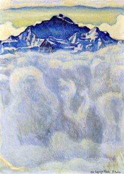 The Jungfrau Over a Sea of Mist | Ferdinand Hodler | Oil Painting