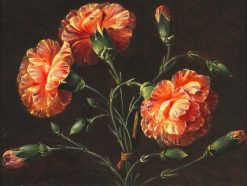 Carnations | Johan Laurentz | Oil Painting