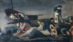 The Wise and Foolish Virgins   Charles Haslewood Shannon   Oil Painting