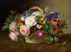 Flower Still-life with Roses