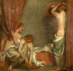 Toilet Scene | Charles Haslewood Shannon | Oil Painting