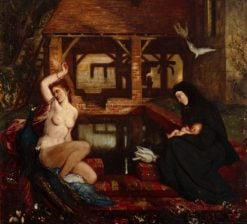 Vanity and Sanctity | Charles Haslewood Shannon | Oil Painting