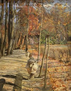In the park | Isaak Brodsky | Oil Painting