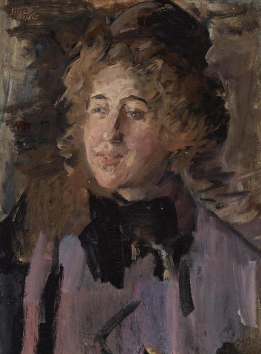 Lady in Violet | Isaac Israels | Oil Painting