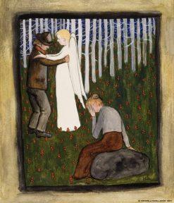 Dream | Hugo Simberg | Oil Painting