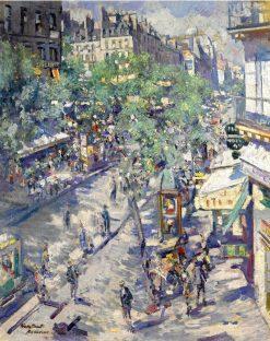 Boulevard de Sebastopol | Constantin Alexeevich Korovin | Oil Painting