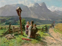 At the Crossroads | Carl Böker | Oil Painting