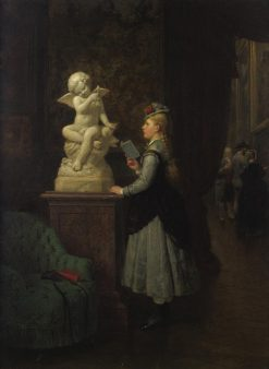 At the Museum | Carl Böker | Oil Painting