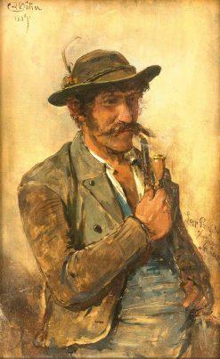 Portrait of a Man | Carl Böker | Oil Painting