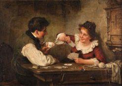 A Quiet Games | Carl Böker | Oil Painting
