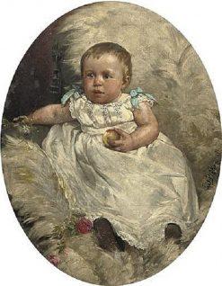 The Little Apple | Carl Böker | Oil Painting