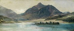 At the Schliersee | Carl Böker | Oil Painting