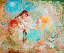 Children and Fairies | William Shackleton | Oil Painting