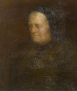 Head of an Old Woman | William Shackleton | Oil Painting