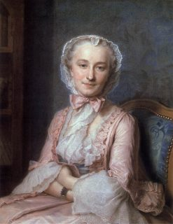 Portrait of Mademoiselle Salle | Maurice Quentin de La Tour | Oil Painting