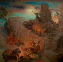 Highland Raiders | William Shackleton | Oil Painting