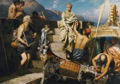 A Castaway Beggar | Hendryk Siemiradzki | Oil Painting