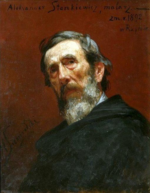 Portrait of Aleksander Stankiewicz | Hendryk Siemiradzki | Oil Painting