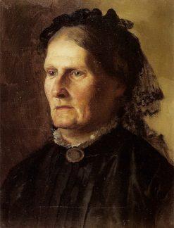 Portrait of the Artists Mother | Hendryk Siemiradzki | Oil Painting