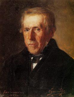 Portrait of the Artists Father | Hendryk Siemiradzki | Oil Painting