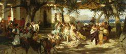 The Judgement of Paris | Hendryk Siemiradzki | Oil Painting