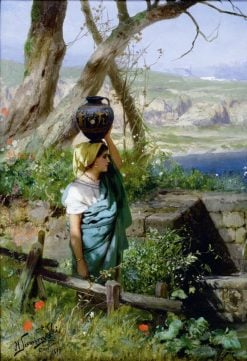 At the Well | Hendryk Siemiradzki | Oil Painting