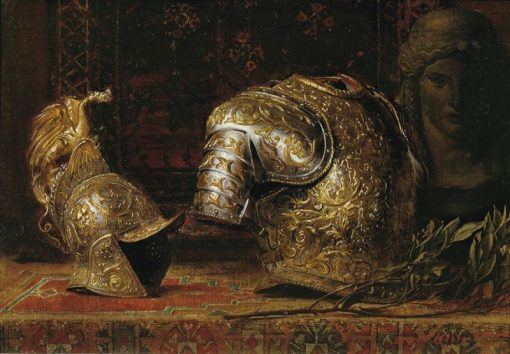 Still Life with Armor | Ernst Klimt | Oil Painting