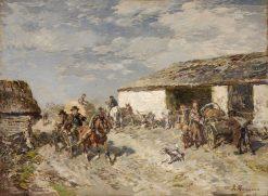 Estonian Homestead | Gregor von Bochmann | Oil Painting