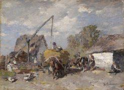 Estonian Farmstead | Gregor von Bochmann | Oil Painting