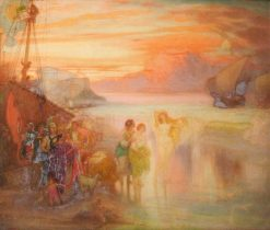 Phryne at Eleusis | William Shackleton | Oil Painting