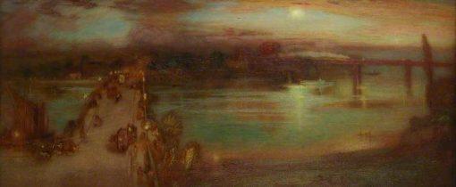Putney Bridge | William Shackleton | Oil Painting