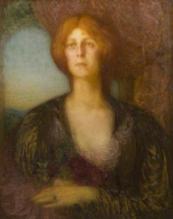 Portrait of a Lady | William Shackleton | Oil Painting