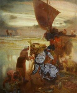 Shore Scene | William Shackleton | Oil Painting