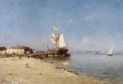 French Port | Charles Malfroy | Oil Painting