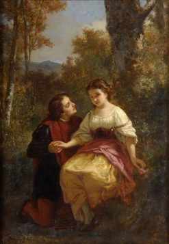 The Proposal | Leopold Carl Muller | Oil Painting