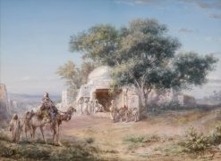 Oriental Scene | Paul B. Pascal | Oil Painting