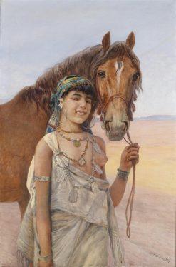 The Favorite | Otto Pilny | Oil Painting