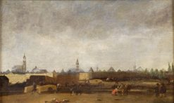 Delft After the Fire | Egbert van der Poel | Oil Painting