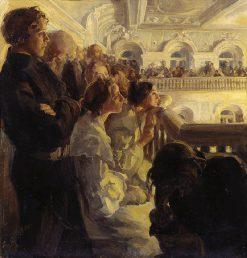 Music   Antonina Rzhevskaya   Oil Painting