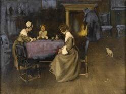 A good glass of wine   Wilhelm Schreuer   Oil Painting