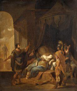 A Biblical Scene   Jacob Willemsz. de Wet   Oil Painting