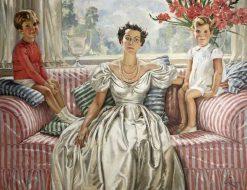 The Open Window   William Bruce Ellis Ranken   Oil Painting
