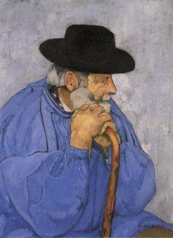 Oberland Peasant   Max Buri   Oil Painting