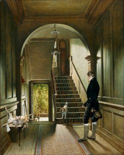 Staircase of his London Residence | Pieter Christoffel Wonder | Oil Painting
