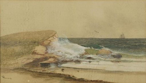 Coastal Scene | Willis Henry Plummer | Oil Painting